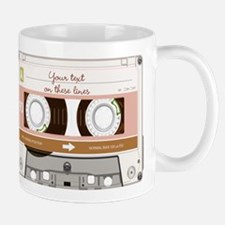 Cassette Tape - Tan Mug