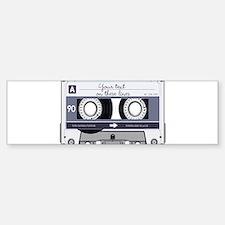 Cassette Tape - Grey Sticker (Bumper)