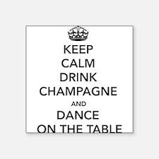 Keep Calm Drink Sticker