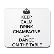 Keep Calm Drink Mousepad