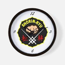 Matsubayashi Shorin Ryu Karate Wall Clock