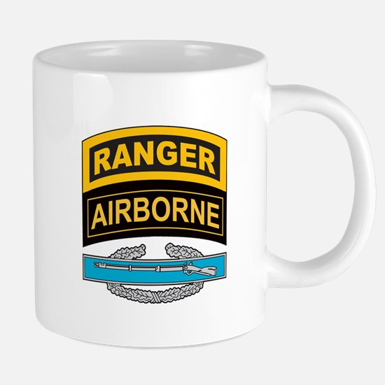 CIB with Airborne Ranger Tab Mugs