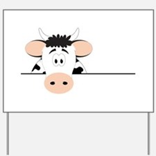 Cow Yard Sign