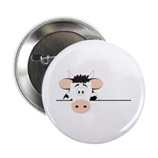 """Cow 2.25"""" Button (10 pack)"""