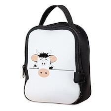 Cow Neoprene Lunch Bag