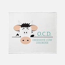 O.C.D. Throw Blanket