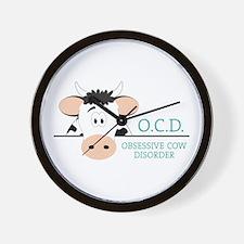 O.C.D. Wall Clock