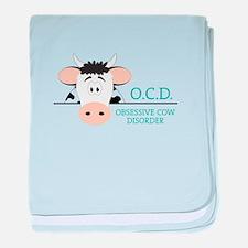 O.C.D. baby blanket