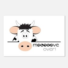 Mooooove Over! Postcards (Package of 8)