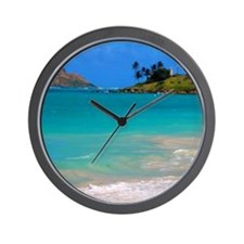 Kailua Beach Wall Clock