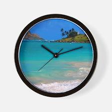 Kailua Beach Wall Clock