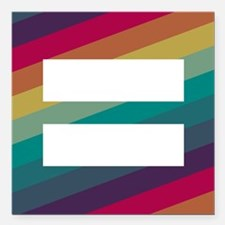 """Marriage Equality Square Car Magnet 3"""" x 3"""""""