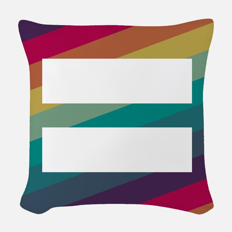 Marriage Equality Woven Throw Pillow