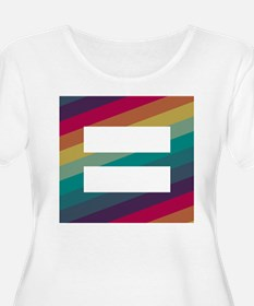 Marriage Equality Plus Size T-Shirt