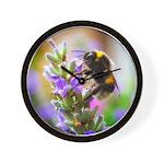 Humble Bumblebee Wall Clock