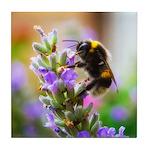 Humble Bumblebee Tile Coaster