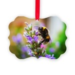Humble Bumblebee Picture Ornament