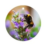 Humble Bumblebee Ornament (Round)