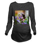 Humble Bumblebee Long Sleeve Maternity T-Shirt