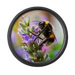 Humble Bumblebee Large Wall Clock