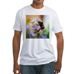 Humble Bumblebee Fitted T-Shirt