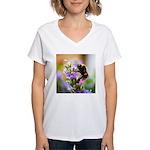 Humble Bumblebee Women's V-Neck T-Shirt