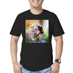 Humble Bumblebee Men's Fitted T-Shirt (dark)