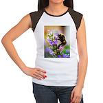 Humble Bumblebee Women's Cap Sleeve T-Shirt