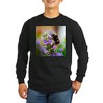 Humble Bumblebee Long Sleeve Dark T-Shirt