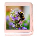Humble Bumblebee baby blanket
