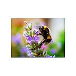 Humble Bumblebee 5'x7'Area Rug