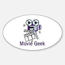 Movie Geek Decal