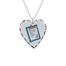 Nurse Notepad Necklace
