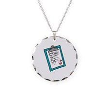 Nurse Notepad Necklace