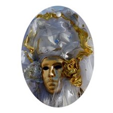 Golden Face Ornament (Oval)