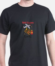 Model Airplanes Rock! T-Shirt