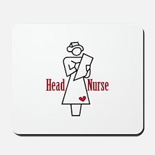 Head Nurse Mousepad