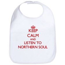 Keep calm and listen to NORTHERN SOUL Bib