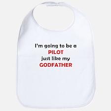 Pilot Like My Godfather Bib