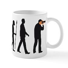 Evolution of man photographer Mugs