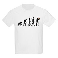 Evolution of man photographer T-Shirt