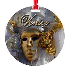 Golden Face Ornament
