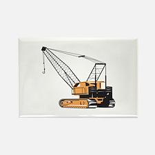 Construction Crane Hoist Retro Magnets