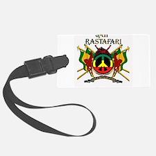 Jah Rastafari Luggage Tag