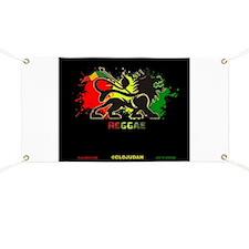 Lion of Judah Reggae Banner