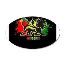 Lion of Judah Reggae Wall Decal
