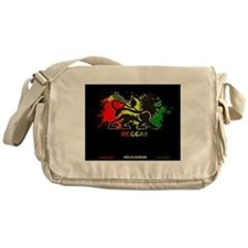 Lion of Judah Reggae Messenger Bag