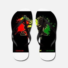 Lion of Judah Reggae Flip Flops