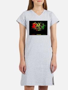 Lion of Judah Reggae Women's Nightshirt