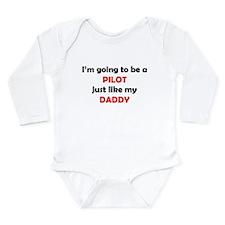 Pilot Like My Daddy Body Suit